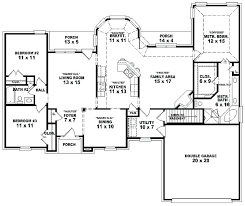 Floor Plans For 5 Bedroom Homes Decor Collection Best Design