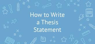 my thesis proposal best thesis sentence ideas make my thesis statement