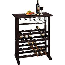 wine rack. Winsome Wood Vinny 24-Bottle Wine Display Rack, Espresso Finish, Multiple Finishes: Rack O
