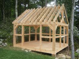 Small Picture Village Post and Beam Barns and Sheds Gardening Pinterest