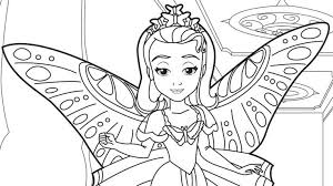 Small Picture Printable Coloring Pages Sofia The First Coloring Pages