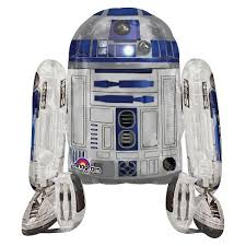 <b>Star Wars R2D2</b> AirWalker <b>Balloon</b> : Target