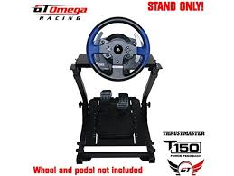 Руль thrustmaster ferrari 458 spider racing wheel (xbox one). Gt Omega Steering Wheel Stand Pro For Thrustmaster T150 Force Feedback Racing Wheel Ps4 Pedals Supporting Tx Xbox Fanatec Newegg Com