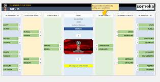 World Cup 2018 Excel Template