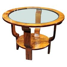 art deco coffee tables nice art coffee or end table with glass art deco glass top