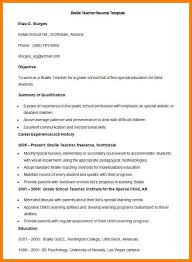 6 Fresher Teacher Resume Format Pdf Trinity Training