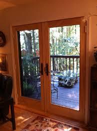 fabulous andersen patio doors andersen series french wood patio door installed in the andersen residence decorating