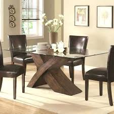 glass top dining table designs room best wood and fashion design