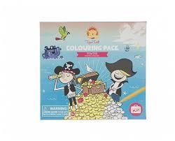 <b>Tiger Tribe Набор для</b> рисования Colouring pack Pirates Пираты ...