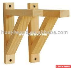 Small Picture wood shelf support brackets wooden floating shelf wood wall shelf