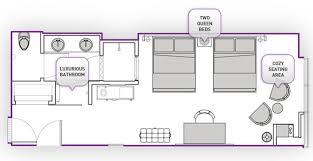 Cosmopolitan 2 Bedroom Suite Custom Design Inspiration