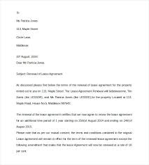 Lease Renewal Letter Beauteous Renewal Notice Template Comeunity
