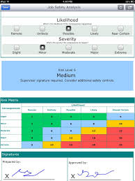 Jsa Risk Assessment Template Job Safety Analysis Form