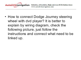 how to setup steering wheel control for dodge journey 2 • how to connect dodge journey steering wheel