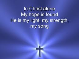 Image result for in christ alone photo