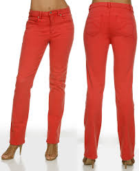 Miraclebody Jeans Size Chart Miraclebody Womens Katie Straight Leg Jeans Red