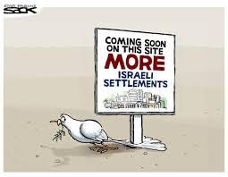 Image result for ISRAELI settlements CARTOON