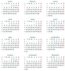 Descargar Calendario 2015 Argentina