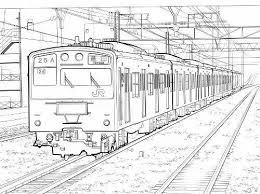 一番欲しい 電車 塗り絵 無料 子供と大人のための無料印刷可能な