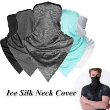 <b>1PC</b> Outdoor <b>Cycling Breathable Ice</b> Silk Neck Cover Face Bandana ...