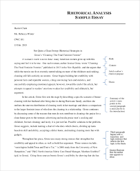 Analysis Essay Example - 7+ Examples in PDF, Word