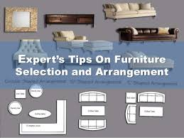 Expert's Tips On Furniture Selection and Arrangement ...