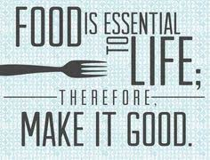 Words of Wisdom on Pinterest | Food Quotes, Cooking Quotes and ...