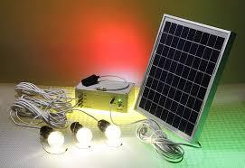 solar powered led 12volt 10w panel lighting kit slr002 10w tpw 001