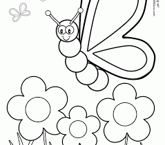 Small Picture Flowers And Butterflies Coloring Pages Leave Or Is Everywhere