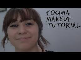finally decided to do the cosima orphan black makeup tutorial you guys have been requesting makeup i m wearing concealer maybelline fit me foundation
