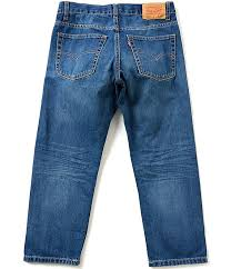 Levis Husky Size Chart Levis Big Boys 8 20 Husky 505 Regular Fit Jeans