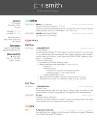 Resume Doc Template Wonderful Latex Resume Templates LaTeX Curricula Vitae R Sum S Hyperrevcipo