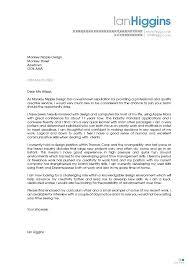 Cover Letter For Jobs Not Advertised Application Letter For Jobs