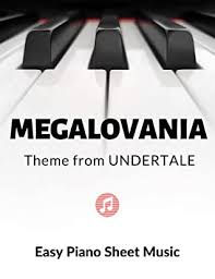 Today i made a version of megalovania for piano. Megalovania Theme From Undertale Easy Piano Sheet Music For Beginners Teach Yourself How To Play Popular Game Song For Adults Kids Video Tutorial Big Notes Large By Alicja Urbanowicz