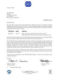 certification letter ansi certification letter inby supply