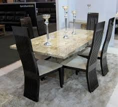 marvellous marble dining room sets pictures best image