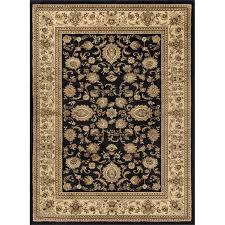 5 x 7 medium black and tan area rug sensation rc willey furniture