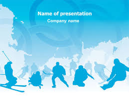 Winter Olympiad Presentation Template For Powerpoint And