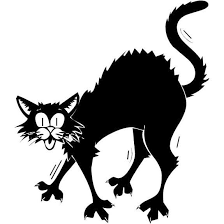 scared black cat clipart. Contemporary Clipart Scary Halloween Black Cat Printable Wallpaper Images 2014  We For Scared Clipart O