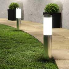 london xt solar post lights set of 2