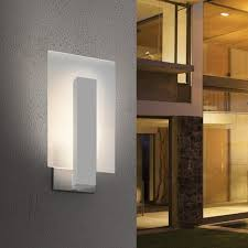 modern outdoor sconces. Modern Outdoor Lighting Sconces Midtown Short Led Wall Sconce By Robert Sonneman From Splendid Ylighting F
