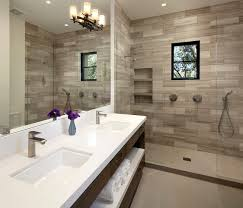 luxury master bathroom designs. Example Of A Large Tuscan Master Gray Tile And Stone Porcelain Floor Alcove Shower Design Luxury Bathroom Designs T