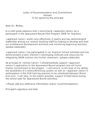 Good Recommendation Letter Resumess Memberpro Co Example Refe Sevte