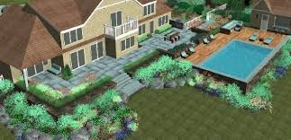 Patio with pool Small Apronhanacom Patio With Pool And Deck Alg