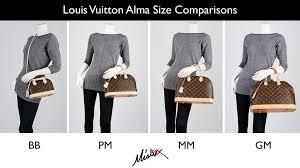 Louis Vuitton Bag Size Guide Bb Vs Pm Vs Mm Vs Gm Louis