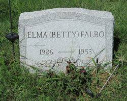 "Elma ""Betty"" Foreman Falbo (1926-1953) - Find A Grave Memorial"