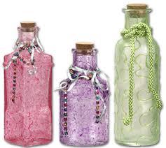 Glass Bottle Decoration Ideas Jewel Glass Bottles FaveCrafts 71