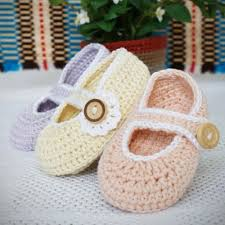 Mary Jane Baby Booties Crochet Pattern Free