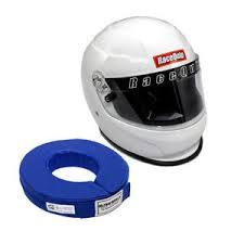 Racequip Helmet Size Chart Details About Racequip 273115 Large Gloss White Full Face Racing Helmet W Free Blue Neck Brace