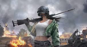 Helmet Girl PUBG 4K - games live ...